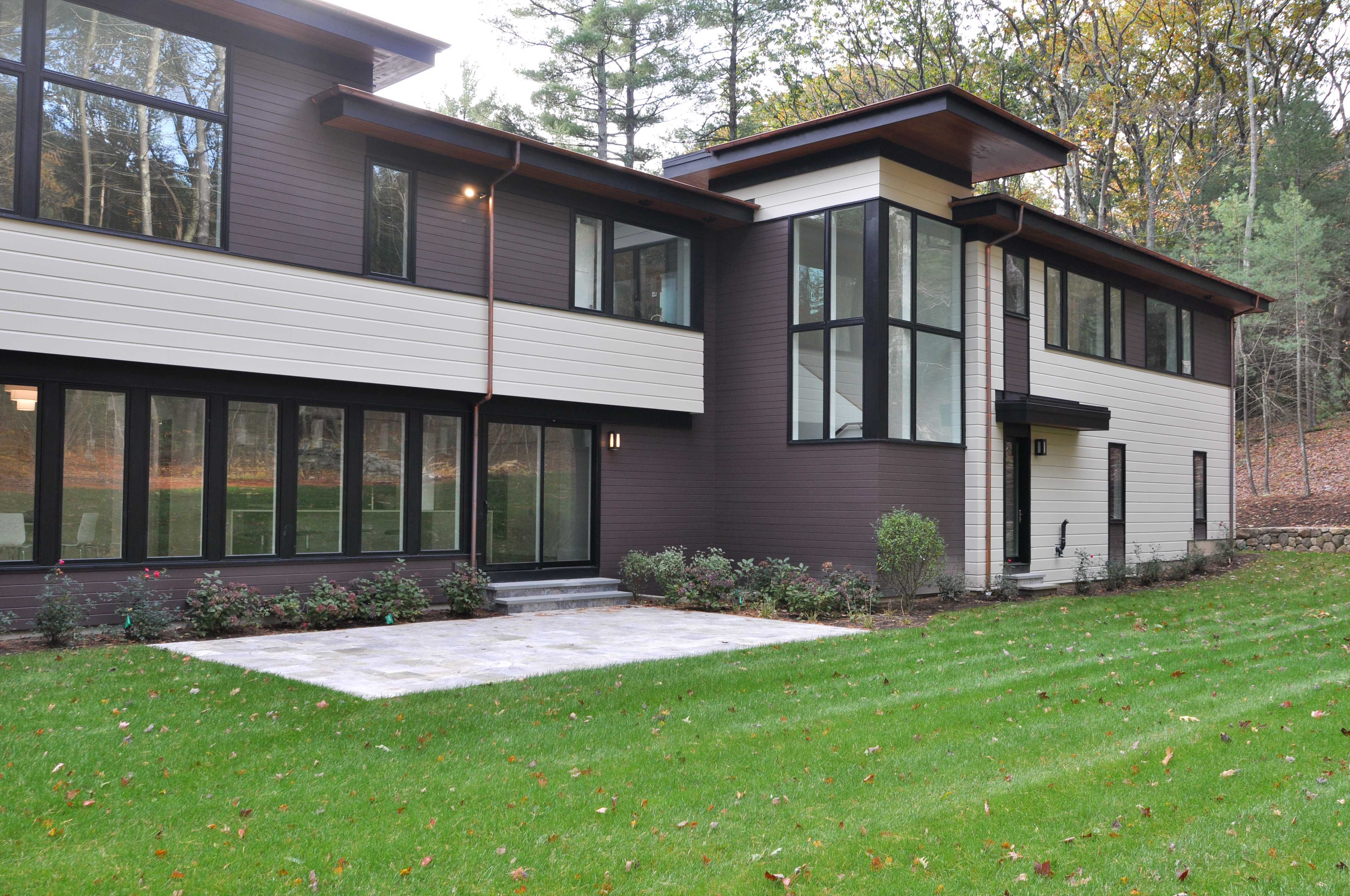 Newly Constructed Modern House in Weston