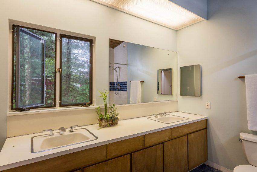 Shared Bath in Three-Bedroom Suite