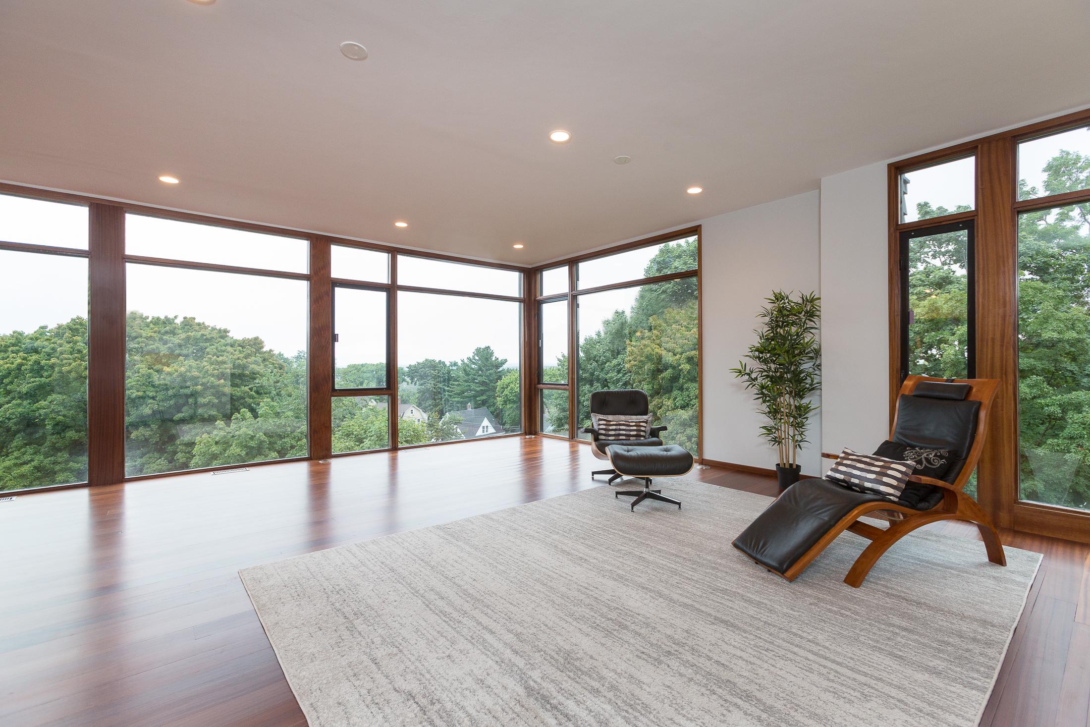 High Modernism Atop Prospect Hill