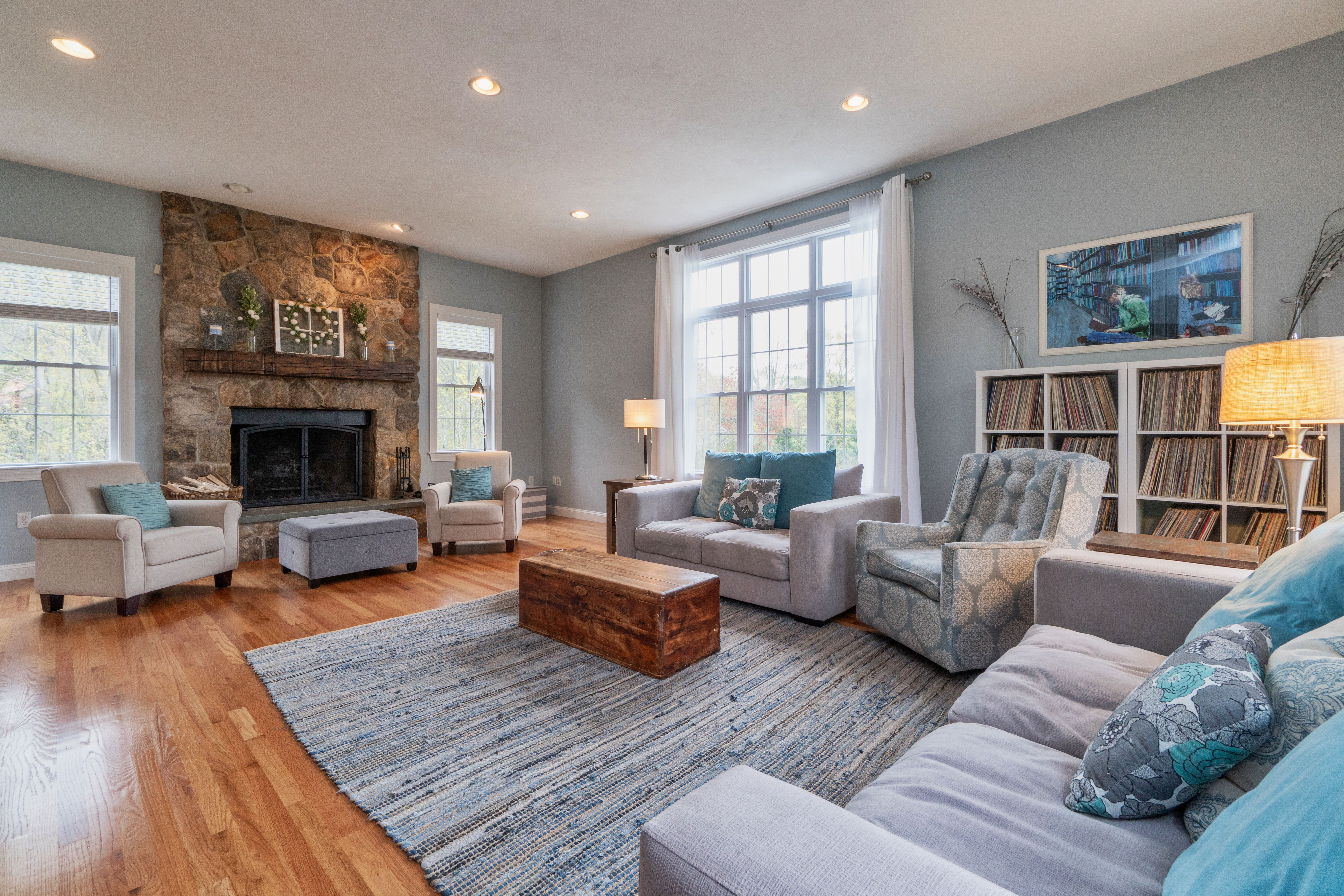Updated Colonial in Stow With Contemporary Flair